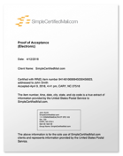 SimpleCertifiedMail-ProofofAccceptanceElectronic